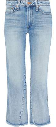Alice + Olivia Ao.la By Nothing To Lose Mid-Rise Kick-Flare Jeans