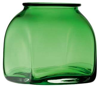 LSA International Green Umberto Glass Vase