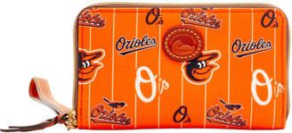 Dooney & Bourke MLB Orioles Zip Around Phone Wristlet