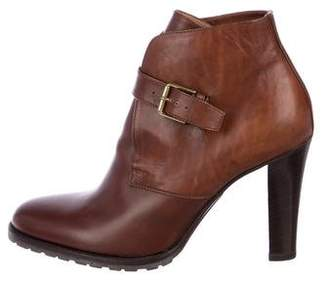 Ralph Lauren Leather Ankle Booties
