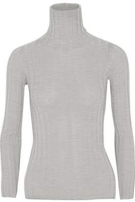 Madeleine Thompson Makri Ribbed Wool And Cashmere-Blend Turtleneck Sweater