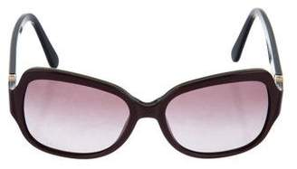 Tory Burch Oversize Tinted Sunglasses