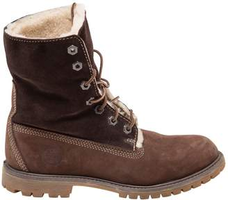 Timberland Brown Suede Ankle boots