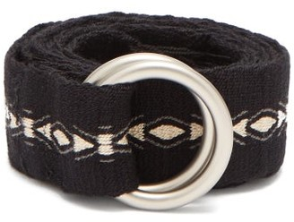 Guanabana - Patterned Woven Belt - Mens - Black Multi
