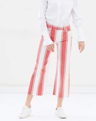 Frame Vintage Crop Jeans