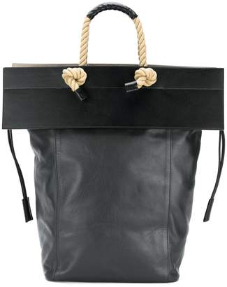 Ports 1961 rope handle flap tote bag