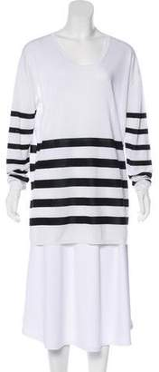 Tomas Maier Striped Knit Top