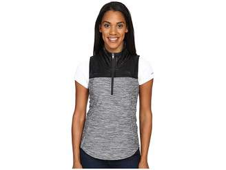 The North Face Pseudio 1/2 Zip Vest (TNF Dark Grey Heather/TNF Black
