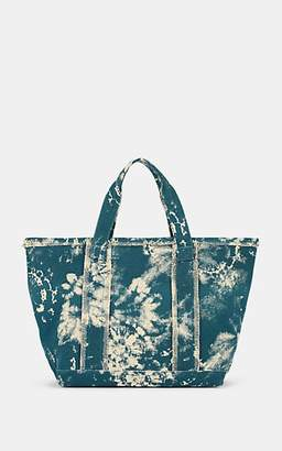Barneys New York Women's Fringed Cotton Canvas Tote Bag - Blue
