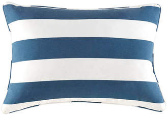 "Jla Home Madison Park Percee 14"" x 20"" Printed Cabana Stripe 3M Scotchgard Outdoor Oblong Pillow"