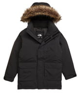The North Face Faux Fur Trim Down Parka