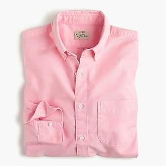 J.Crew Untucked American Pima cotton oxford shirt with mechanical stretch