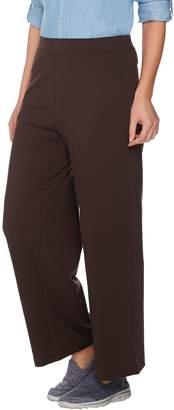 Denim & Co. Active Regular Wide Leg Pull-on Pant