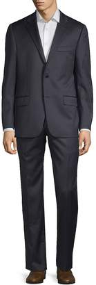 Hickey Freeman Men's Tonal Striped Wool Suit