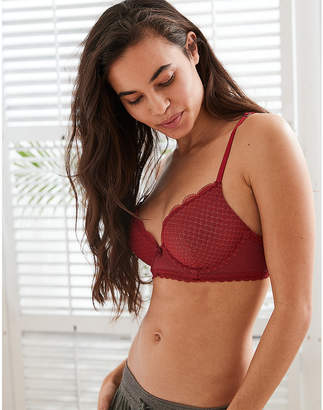aerie Brooke Longline Push Up Bra