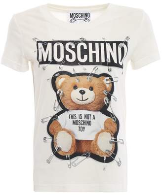 Moschino This Is Not A Toy White Tee