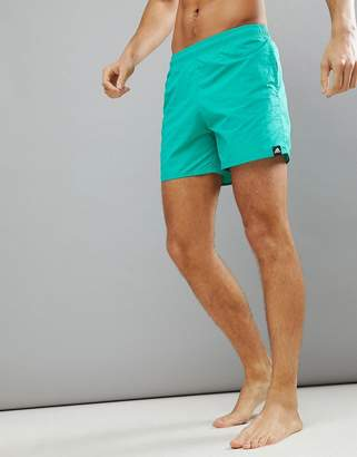 adidas Swim Shorts In Green CV7113