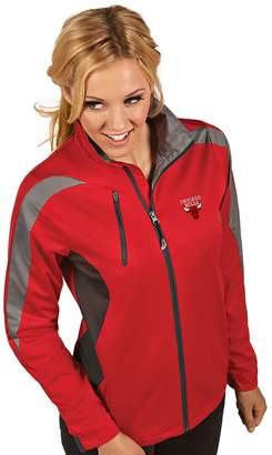 Antigua Women's Chicago Bulls Discover Full Zip Jacket