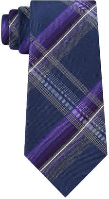 Kenneth Cole Reaction Men Vermont Plaid Slim Tie