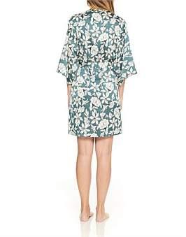 Gingerlily Green Floral Kimono