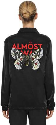 Coach Almost Always Butterfly Satin Jacket