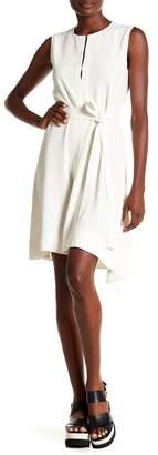 Theory Desza Tie Waist Dress