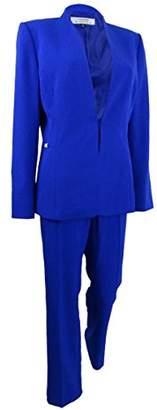 Tahari by Arthur S. Levine Women's Bistretch One Button Pant Suit