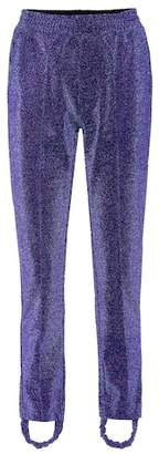 Dele metallic stirrup trousers