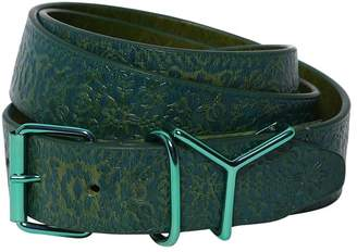 Y/Project 35mm Embossed Leather Printed Belt