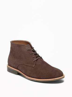 Old Navy Faux-Suede Lace-Up Chukkas for Men