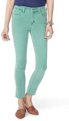 NYDJ Alina High Waist Ankle Jeans (Light Primrose)