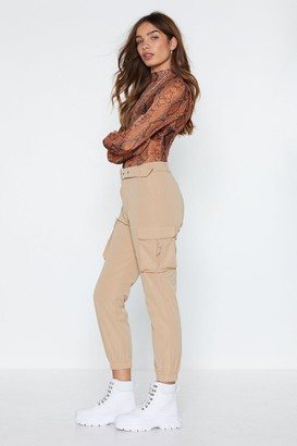 Nasty Gal Buckle This Cargo Pants