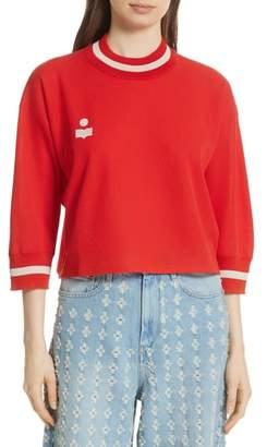 Etoile Isabel Marant Dayton Crop Sweatshirt