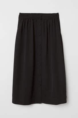 H&M Circle Skirt - Black