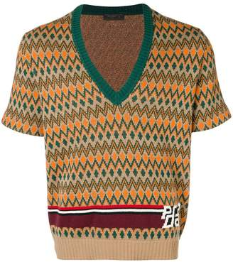 Prada short-sleeved pullover