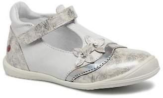GBB Kids's Serena Ballet Pumps in White