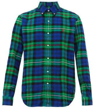 Polo Ralph Lauren Custom Fit Checked Cotton Flannel Shirt - Mens - Multi