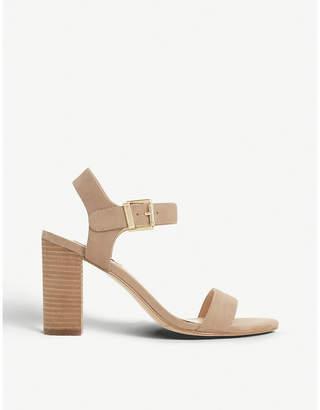 Dune Isobel leather heeled sandals