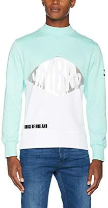 House of Holland Men's Umbro Foil Logo Sweatshirt, X-Small