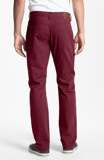 Obey 'New Threat' Slim Fit Canvas Pants