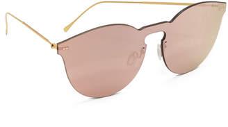Illesteva Leonard II Mask Sunglasses $190 thestylecure.com