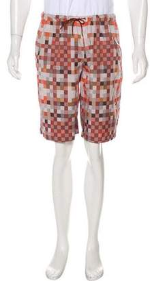 Louis Vuitton Damier Print Shorts