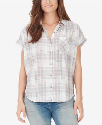 William Rast Plaid Button-Front Shirt