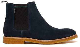 Paul Smith Andy Suede Chelsea Boot - Mens - Blue