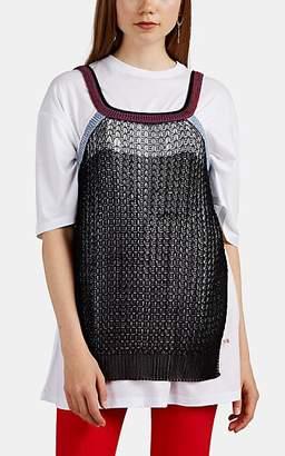 Victoria Beckham Women's Layered Jersey T-Shirt - Black