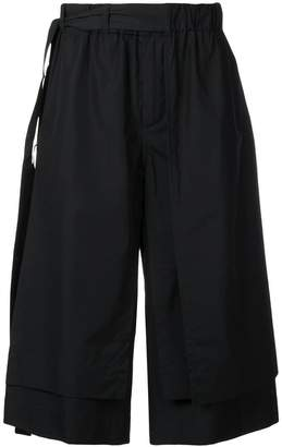 Craig Green belted waist bermuda shorts