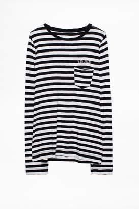 Zadig & Voltaire Zadig Voltaire Regy Stripes T-Shirt