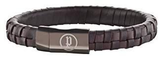 Police Men's Connector Bracelet of Length 20cm 25689BLC/02-L