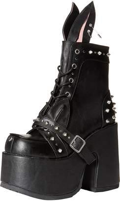 Demonia Women's Camel-202 Ankle Boot