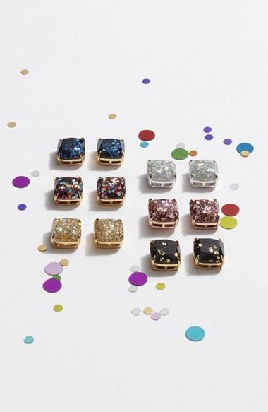 Women's Kate Spade New York Mini Small Square Stud Earrings 2